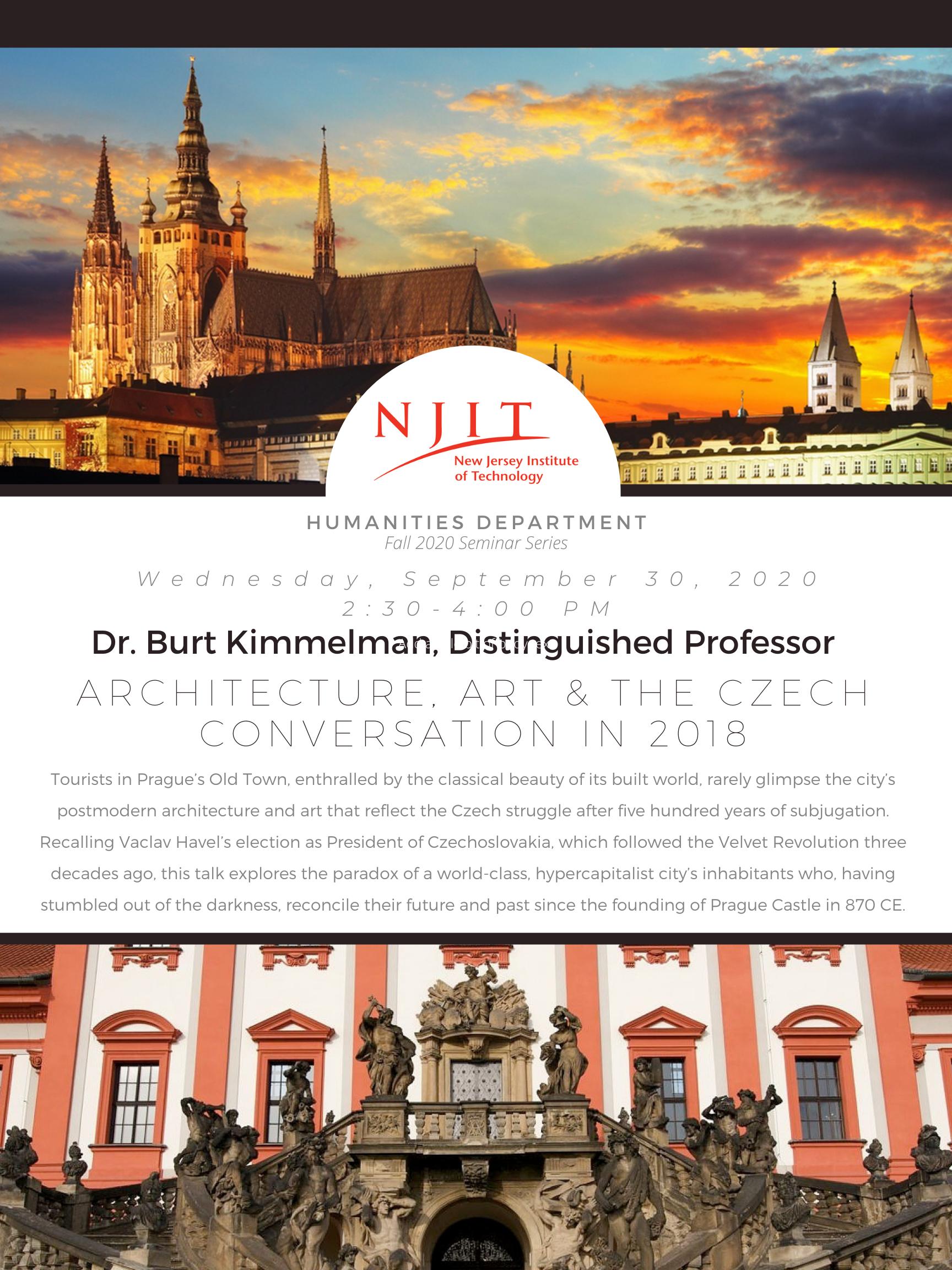 Architecture, Art & the Czech Conversation in 2018